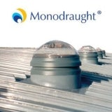 Monodraught ABS 350 Suncatcher 230mm Sunpipe - 1.5m Long for Flat Roof