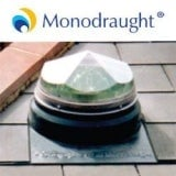 Diamond Dome Sunpipe 530mm Flat Felted Roof Kit