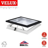 VELUX Electric Flat Glass Rooflight Clear for Flat Roof  1000 x 1000mm