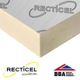75mm Recticel Eurothane GP Rigid Insulation Board  - 2.4m x 1.2m