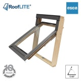 RoofLITE ESCA Top Hung Pine Escape Roof Window - 78cm x 98cm