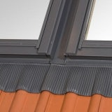RoofLITE 78cm x 118cm 2x Flashings Side by Side for Slates and Tiles