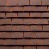 Sandtoft Humber Plain Clay Eaves Tile - Tuscan