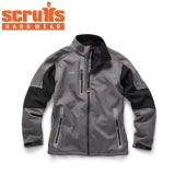 Scruffs Pro Softshell Jacket in Charcoal - S