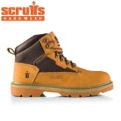 Scruffs Twister Safety Boot in Tan - Size 10