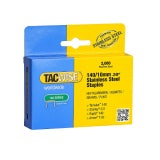 Tacwise 10mm Staples 140 - Box of 2000