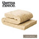 Thermafleece CosyWool Sheeps Wool Loft Insulation Slab 100mm x 390mm - 9.83m2