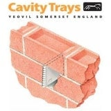 Type W Polypropylene Caviweep Vent 320mm2 Airflow - Terracotta