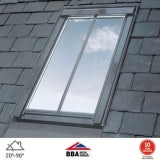 VELUX GGL MK06 SD5N2 Conservation Window for 8mm Slate - 78cm x 118cm