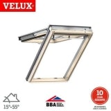 VELUX GPL PK04 3066 Pine Top Hung Window Triple Glazed - 94cm x 98cm