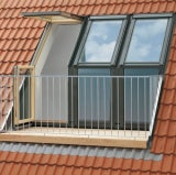VELUX Triple Roof Terrace R/H for 120mm Tile GEL SE0W2211 238 x 245cm