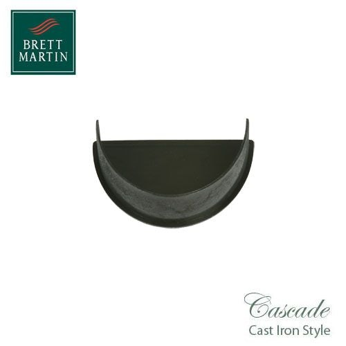 Cascade Cast Iron Deepstyle 115mm Rise & Fall Bracket Coated Black