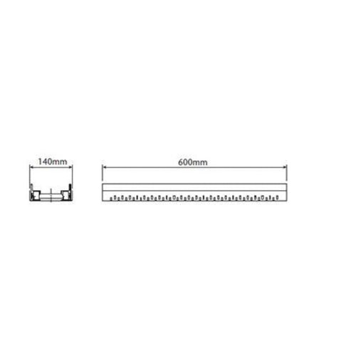 ACO Freedeck Adjustable Length Shallow Section - Galvanised Steel