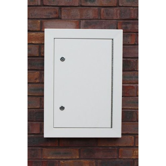 Electricity Meter Overbox Aluminium Architrave 625 x 450 x 56mm