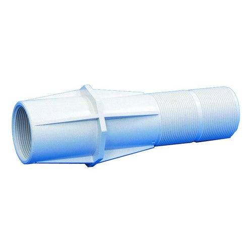 Swimming Pool Wall Inlet 2 Inch Male Thread No Leak Flange - White