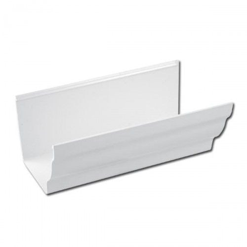 Plastic Guttering Ogee Prostyle 4m Length 106mm - White