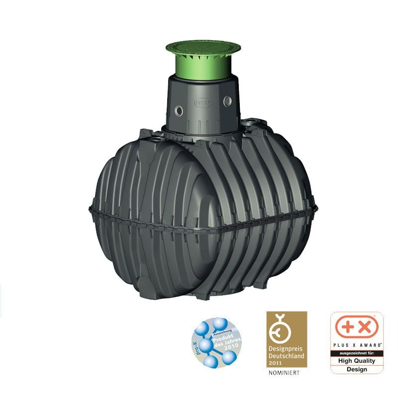 Video of Graf Carat 3750L Septic Tank - 11 Person with Pedestrian Lid