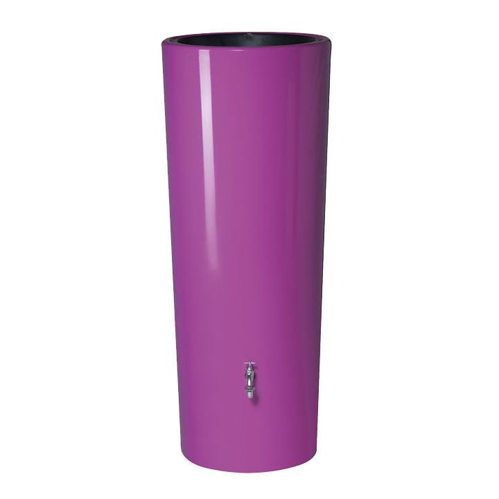 Video of Garden Water Storage Tank Aboveground - Cassis Purple