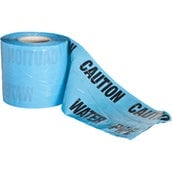 Detectable Underground Warning Tape Blue Water Mains 150mm x 100m