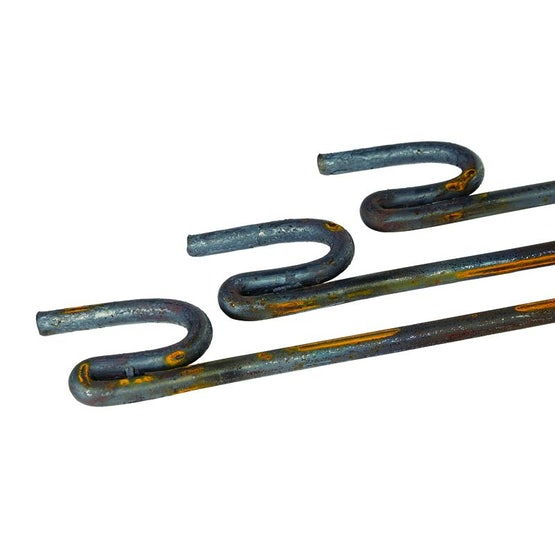 Barrier Fencing Ribbed Pin - 1200mm