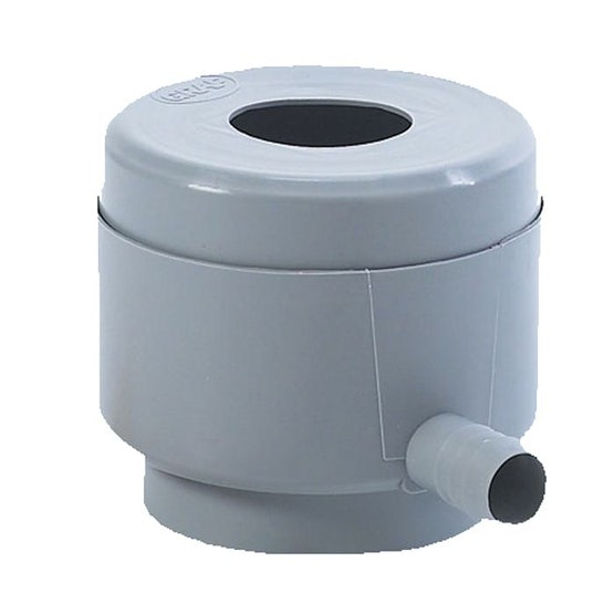 Water Storage Tank Round Downpipe Filling Device - Grey