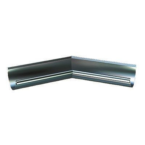 Lindab Half Round 120dg Inner Gutter Angle 150mm Painted Dark Grey