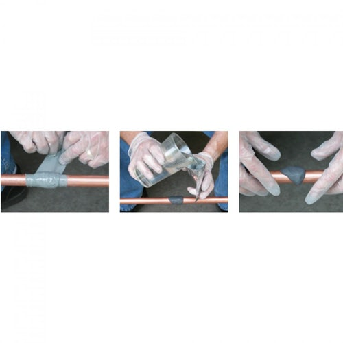 Pipe Repair Kit Pow-R-Wrap for Up to 25mm Pipe