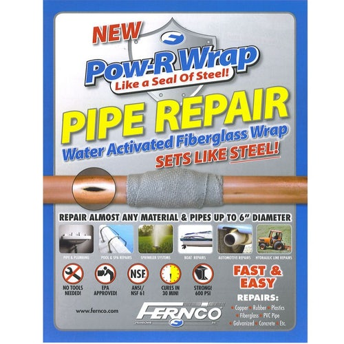 Pipe Repair Kit Pow-R-Wrap for Up to 150mm Pipe
