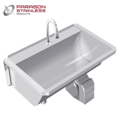 Stainless Steel Commercial Sink Knee Operated