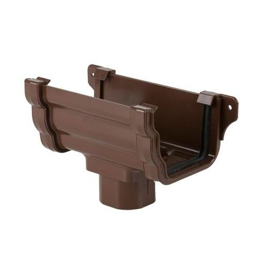 Plastic Guttering Ogee Prostyle Running Outlet 106mm