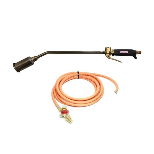 Universal Pro Gas Torch Kit - Medium (Complete with Hose & Regulator)