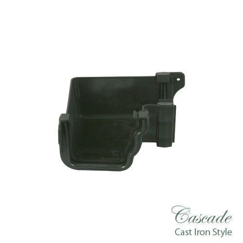 Cascade Cast Iron Style 106mm Prostyle Internal 90dg Angle - Black