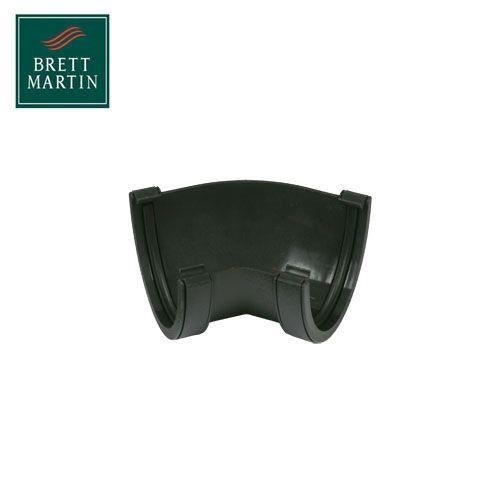 Cascade Cast Iron Style 115mm Deepstyle Fabricated Angle - Black
