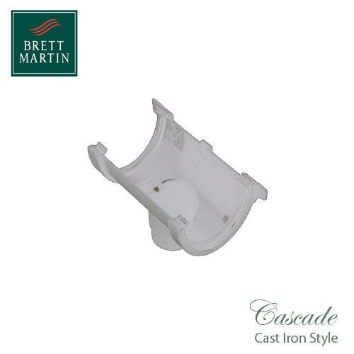 Cascade Cast Iron Style 115mm Plastic Deepstyle Running Outlet - White