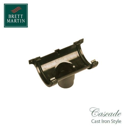 Cascade Cast Iron Style 112mm Roundstyle Running Outlet - Sandstone