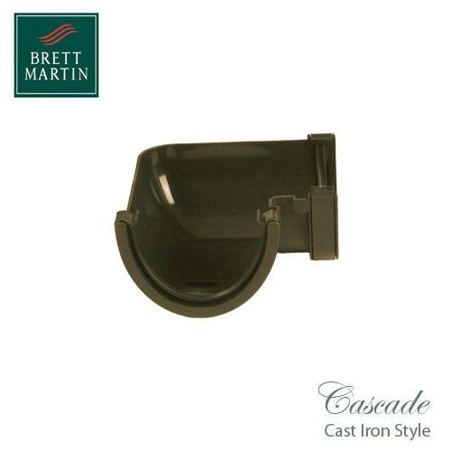 Cascade Iron Style 115mm Plastic Deepstyle 90dg Angle - Sand
