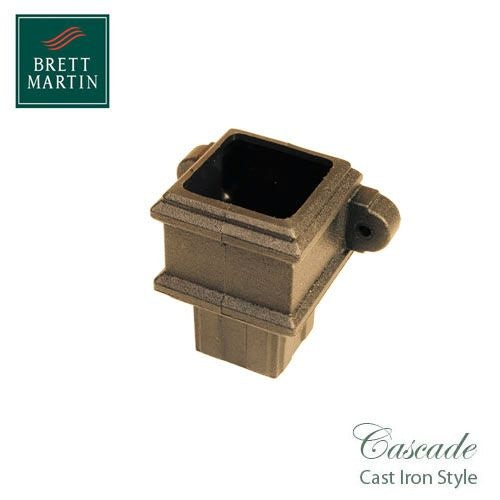 Cascade Cast Iron Style 65mm Plastic Pipe Coupler With Lugs - Sand