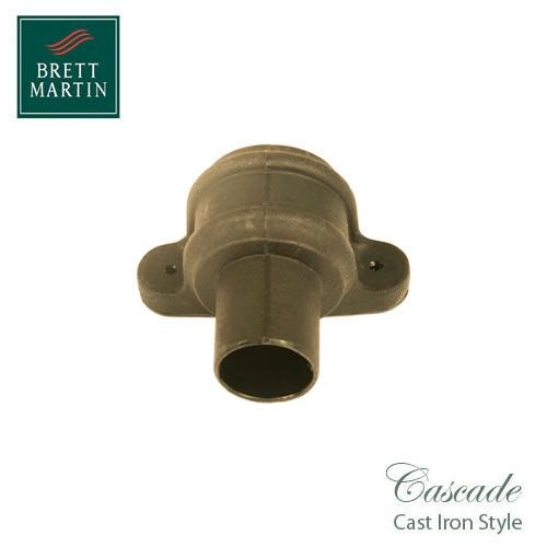 Cascade Cast Iron Style 68mm Plastic Pipe Coupler With Lugs - Sand