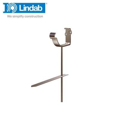 Video of Lindab Half Round Rise & Fall Bracket 125mm Painted Brown