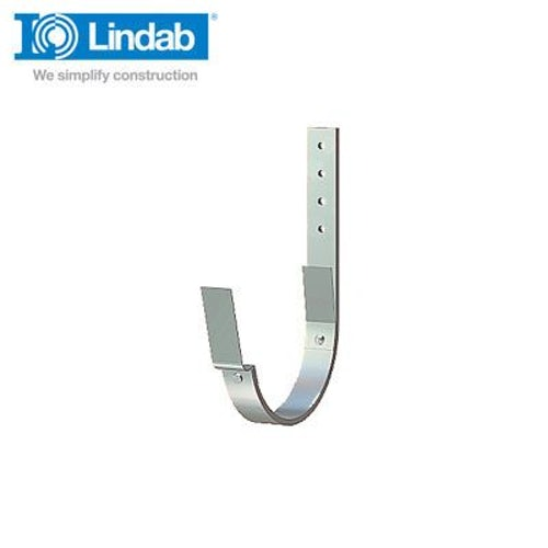 Lindab Half Round Fascia Bracket 190mm Painted Anthracite Metallic