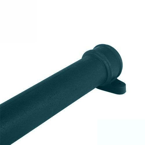 Cascade Cast Iron Style 105mm x 1.8m Socketed Pipe With Lugs (Green)