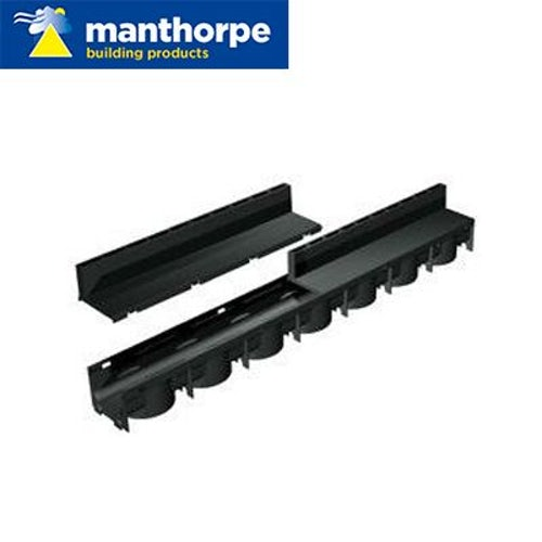 Manthorpe SlotDrain Channel Drain - Pack of 96 x 1m Lengths