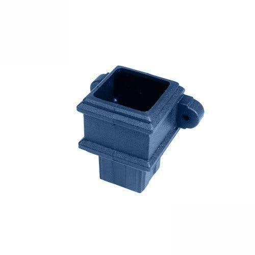 Cascade Cast Iron Style 65mm Plastic Pipe Coupler With Lugs - Blue