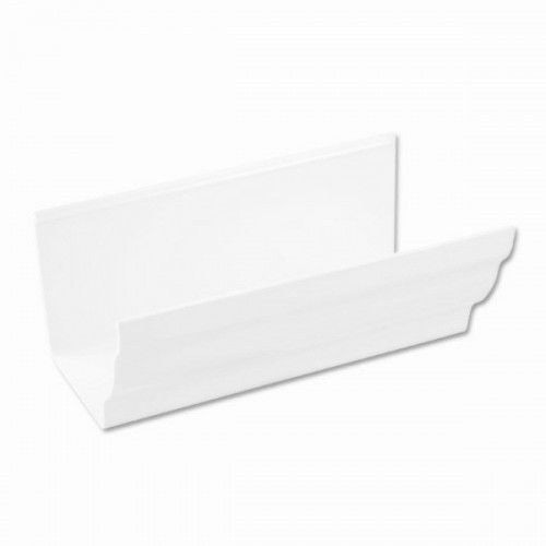 Plastic Guttering Ogee Prostyle 4m Length 106mm - Arctic White