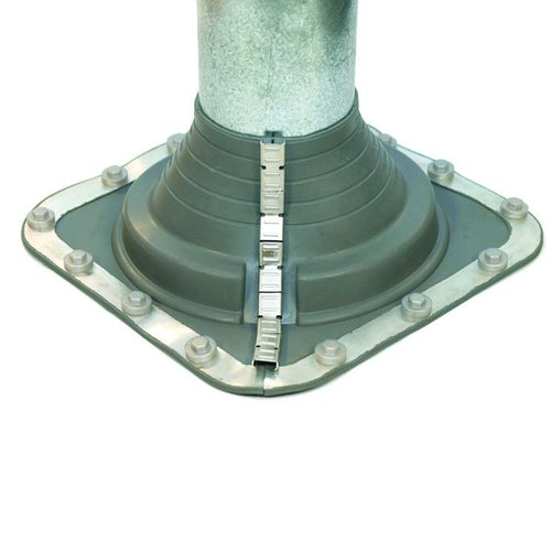Pipe Flashing for Metal Roofs 240-503mm Dektite Combo Grey EPDM