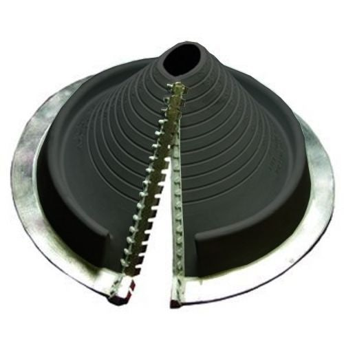 Video of Pipe Flashing for Metal Roofs 20-70mm Dektite Retrofit Black EPDM