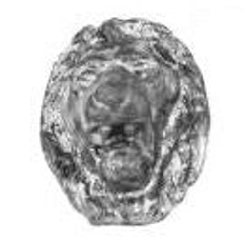 Lead Lion Head Motif - 100mm