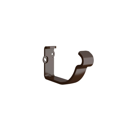Lindab Half Round Fascia Bracket 125mm Painted Brown