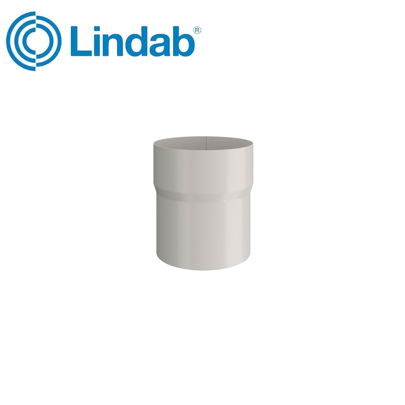 Video of Lindab Round Pipe Connector 75mm Painted Antique White