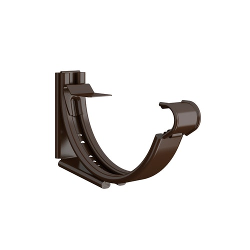 Lindab Round Adjustable Snap-On Bracket 125mm Painted Brown